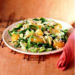 orangescallion-salad